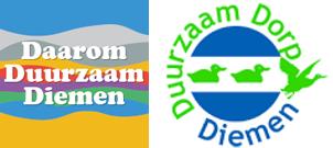 logo's Duurzaam Diemen